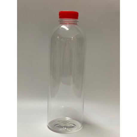BOTELLA PET TRANSPARENTE 1000 CC