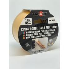 CINTA DOBLE CARA MULTIUSO C161050 10 MT X 50 MM