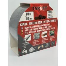 CINTA AMERICANA PLATA CTP1050 10 MT X 50 MM
