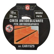 CINTA ADHESIVA ANTIDESLIZ. NEGRA CAN1525 15MTX25MM