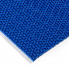 PAV REJILLA TRIANGULO PVC AZUL 1.200X15.000X5MM